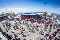 2015 Amgen Tour of California Stage04  Depart Peloton Pismo Beach Pier