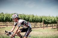 2016 Amgen Tour of California Stage05, LachlanNORTON(AUS_JBC) rolss through the vineyards