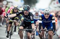 2016_Driedaagse De Panne-Koksijde_Stage2, Finish, 1st ElaiVIVIANI(ITA-SKY), 2nd MarcelKITTEL(GER-EQS), 3rd AlexanderKRISTOFF(NOR-KAT)