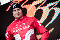 2016_Driedaagse De Panne-Koksijde_Stage2, Podium, General Classification Leader, AlexanderKRISTOFF(NOR-KAT)