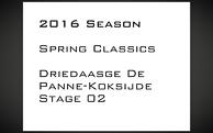2016_Driedaagse De Panne-Koksijde_Stage2_
