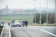 2016_Driedaagse De Panne-Koksijde_Stage3a, Breakaway, led by IgorBOEV(RUS-GAZ)