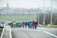 2016_Driedaagse De Panne-Koksijde_Stage3a, Peloton, led by IljoKEISSI(BEL-EQS)