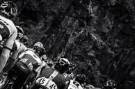 2016 Grands Prix Cyclistes de Québec et de Montréal, Montreal Race, Peloton on Voie Camillien-Houde Climb, BrunoLANGLOIS(CAN-CAN), National Road Champion