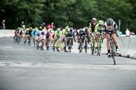 2016 Grands Prix Cyclistes de Québec et de Montréal, Montreal Race, Peloton, MattBRAMMEIER(IRL-DDD), spent a significant portion of the race driving the pace.