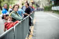 2016 Grands Prix Cyclistes de Québec et de Montréal, Montreal Race, Fans wait for Race on KOM
