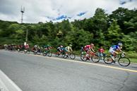2016 Grands Prix Cyclistes de Québec et de Montréal, Montreal Race, Peloton, WilliamBONNET(FRA-FDJ) on descent off KOM