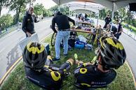 2016 Grands Prix Cyclistes de Québec et de Montréal, Montreal Race, SignOn, TeamDirectEnergyRiders(FRA-DEN) relax pre race