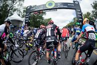 2016 Grands Prix Cyclistes de Québec et de Montréal, Montreal Race, Depart, Riders mass on the Statrt Line