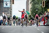 2016 Grands Prix Cyclistes de Québec et de Montréal, Montreal Race, Finish, 1st GregVANAVERMAET(BEL-BMC), 2nd PeterSAGAN(SVK-TNK), 3rd DiegoULISSI(ITA-LAM)