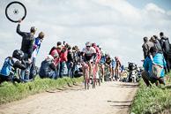 2016 Paris-Roubaix, 2016_Paris-Roubaix, Breakaway, Secteur27, Troisvilles, led by YaroslavPOPOVYCH(UKR-TFS)