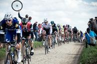 2016 Paris-Roubaix, Peloton, Secteur27, Troisvilles, FabianCANCELLARA(SUI-TFS)