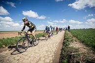 2016 Paris-Roubaix, 2016_Paris-Roubaix, Breakaway, Secteur27, Troisvilles, SylvainCHAVANEL(FRA-DEN)