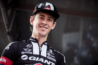 2016 Scheldeprijs,, Start, ChadHAGA(USA-TGA), returns to racing after struck by car at Team Training Camp