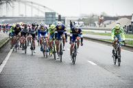 2016 Scheldeprijs, Peloton begin to set up Sprint trains of Shoten Circuit, TomBOONEN(BEL-EQS), Tinkoff, DimensionData