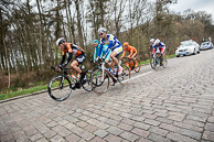 2016 Scheldeprijs, Race, Breakaway, on Pave, led by BerdenDEVRIES(NED-ROP)