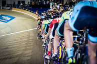2016_WorldCyclingLeague_LA_1stSession_Women's Elimination to Three line up on the rails