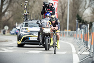 2016_Driedaagse De Panne-Koksijde_Stage3b_ITT, SylvainCHAVANEL(FRA-DEN), 6th on Stage, 5th Overall in GC