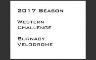2017 Western Challange - Burnaby Velodrome,